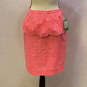 NWT Lilly Pulitzer Thyme style lined skirt